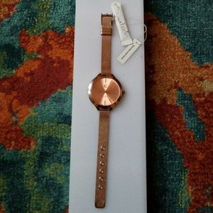 Brand New! CHARMING CHARLIE Rose Gold Watch